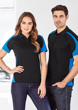 Biz Talon Ladies Mesh Polo P401LS 1