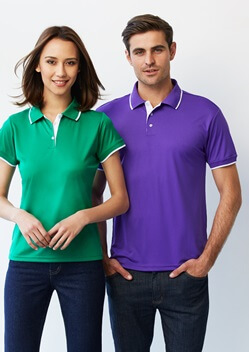 Biz Miami Mens Biz Cool Polo P402MS 1