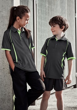 Biz Razor Kids Sports Polo P405KS 1