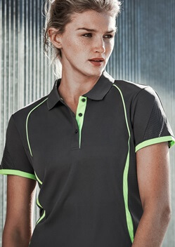 Biz Razor Ladies Sports Polo P405LS