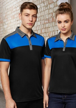 Biz Charger Mens Sports Polo P500MS