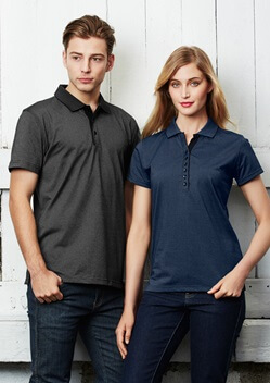 Biz Shadow Mens Polo P501MS