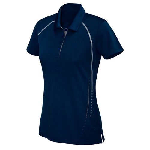 Biz Cyber Ladies Biz Cool Breathable Antibacterial Polo P604LS 6