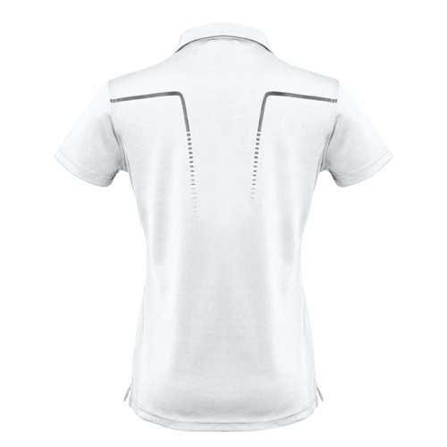 Biz Cyber Ladies Biz Cool Breathable Antibacterial Polo P604LS 7