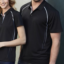 Biz Cyber Mens Biz Cool Breathable Antibacterial Polo P604MS