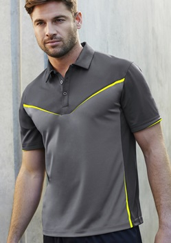 Biz Victory Mens Biz Cool Breathable Antibacterial Polo P606MS 1