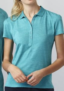 Biz Coast Ladies 100% Cotton Comfort Polo P608LS