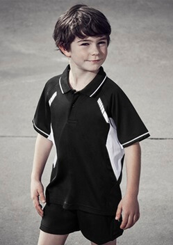 Biz Renegade Kids Sports Polo P700KS 1