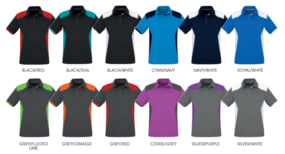 Biz Rival Mens Breathable Micro Dry Polo P705MS 2