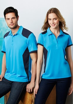 Biz Rival Mens Breathable Micro Dry Polo P705MS 1