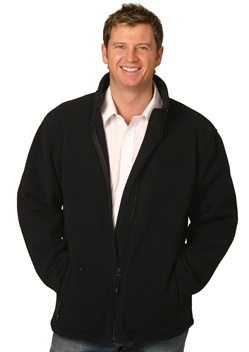 WS Bonded Mens Fleece Jacket (4XL to 5XL) PF07-X