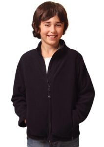 WS Bonded Kids Fleece Jacket PF07K