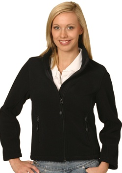 WS Bonded Ladies Fleece Jacket PF08 1