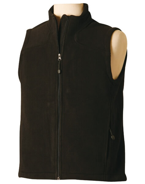 WS Bonded Ladies Fleece Vest PF10 2