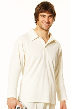 WS Cricket Mens Long Sleeve Polo PS29L 1