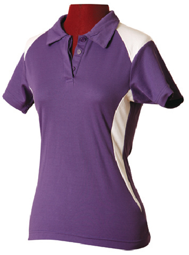 WS Winner TrueDry Ladies Contrast Polo PS32A 6
