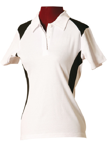 WS Winner TrueDry Ladies Contrast Polo PS32A 11