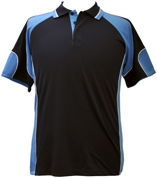 WS Alliance Kids CoolDry Contrast Polo PS61K 11