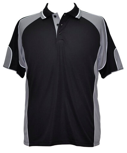 WS Alliance Mens CoolDry Contrast Polo PS61 2