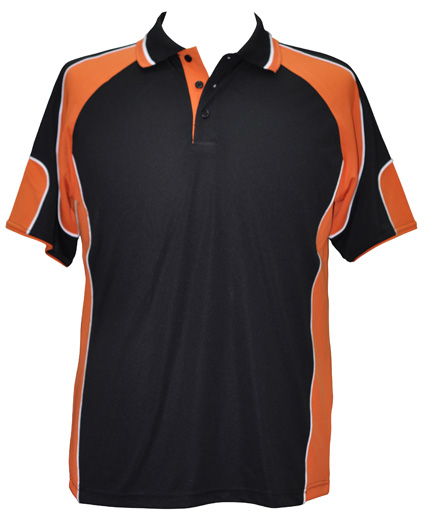 WS Alliance Mens CoolDry Contrast Polo PS61 3