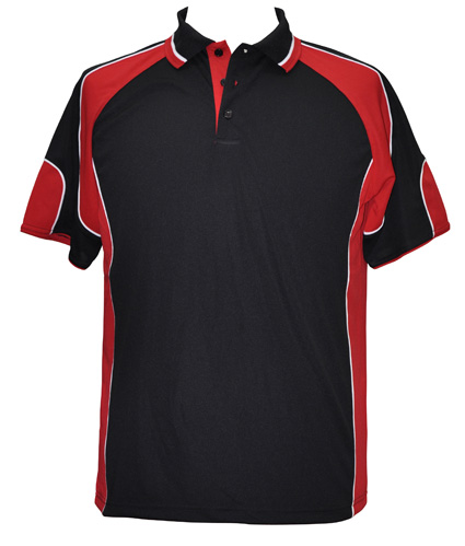 WS Alliance Mens CoolDry Contrast Polo PS61 4