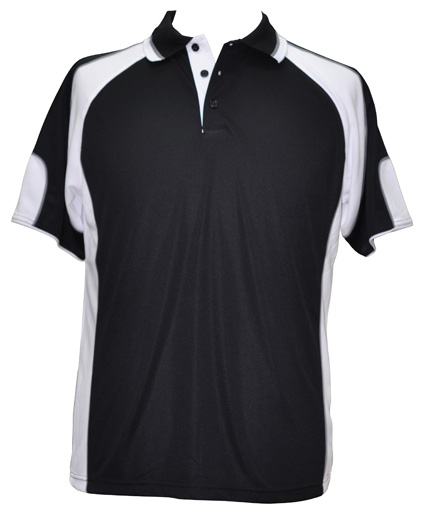 WS Alliance Kids CoolDry Contrast Polo PS61K 5