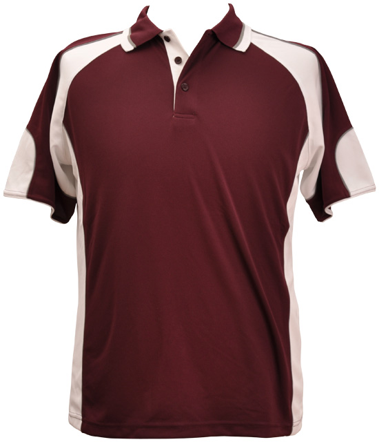 WS Alliance Mens CoolDry Contrast Polo PS61 8