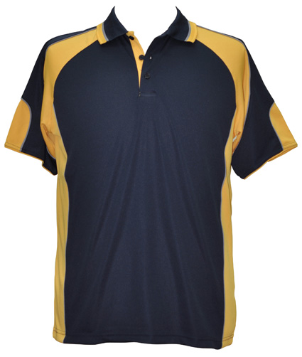 WS Alliance Mens CoolDry Contrast Polo PS61 9