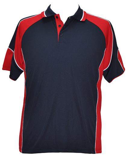 WS Alliance Mens CoolDry Contrast Polo PS61 10