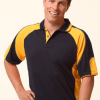 WS Alliance Mens CoolDry Contrast Polo PS61