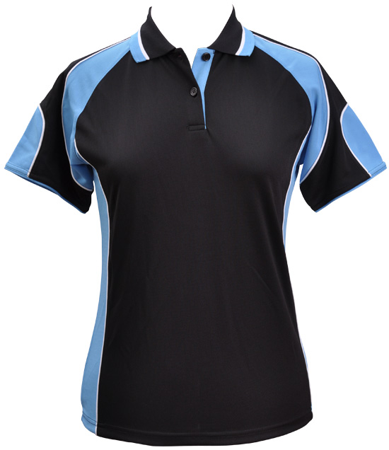WS Alliance Ladies CoolDry Contrast Polo PS62 11