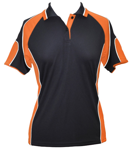 WS Alliance Ladies CoolDry Contrast Polo PS62 3