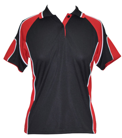 WS Alliance Ladies CoolDry Contrast Polo PS62 4