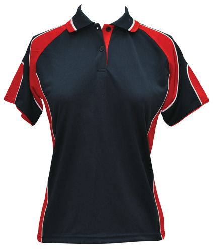 WS Alliance Ladies CoolDry Contrast Polo PS62 10