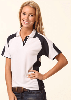 WS Alliance Ladies CoolDry Contrast Polo PS62 1