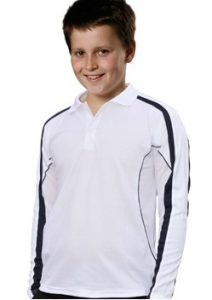 WS Legend Plus Kids TrueDry Long Sleeve Polo PS69K