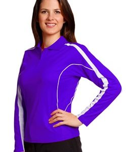 WS Legend Plus Ladies TrueDry Long Sleeve Polo PS70