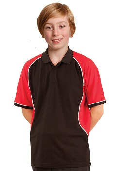 WS Arena True Dry Kids Polo PS77K 1