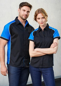 Biz Nitro Ladies Short Sleeve Shirt S10122