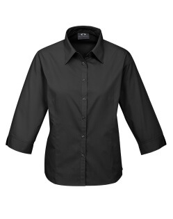 Biz Base Ladies 3/4 Sleeve Shirt S10521 2