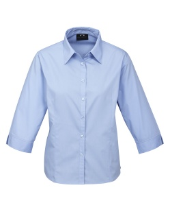 Biz Base Ladies 3/4 Sleeve Shirt S10521 3