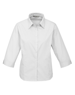 Biz Base Ladies 3/4 Sleeve Shirt S10521 4