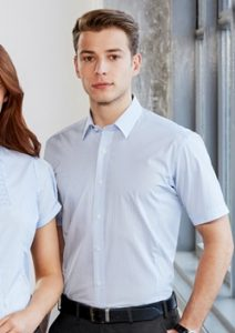 Biz Berlin Mens Short Sleeve Shirt S121MS