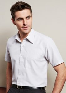 Biz Ambassador Mens Short Sleeve Shirt S251MS