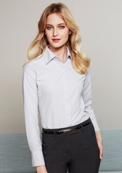 Biz Ambassador Ladies Long Sleeve Shirt S29520