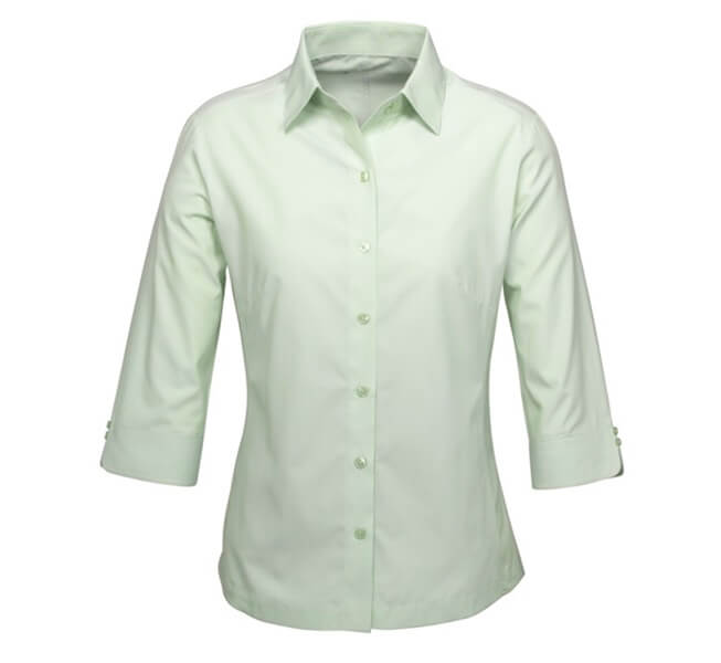 Biz Ambassador Ladies 3/4 Sleeve Shirt S29521 2