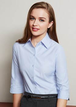 Biz Ambassador Ladies 3/4 Sleeve Shirt S29521 1