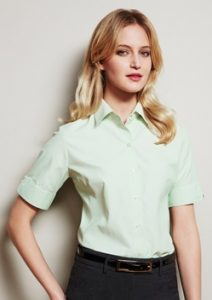 Biz Ambassador Ladies Short Sleeve Shirt S29522