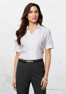 Biz Preston Ladies Short Sleeve Shirt S312LS