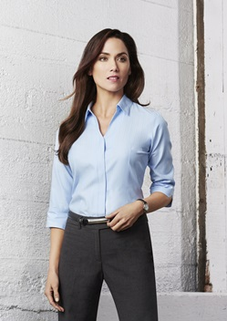 Biz Preston Ladies 3/4 Sleeve Shirt S312LT 1